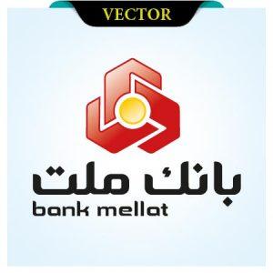 وکتور لوگوی بانک ملت