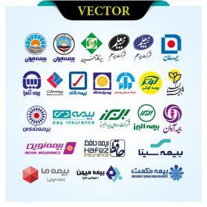 وکتور لوگوی شرکت های بیمه