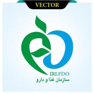 وکتور لوگوی سازمان غذا و دارو