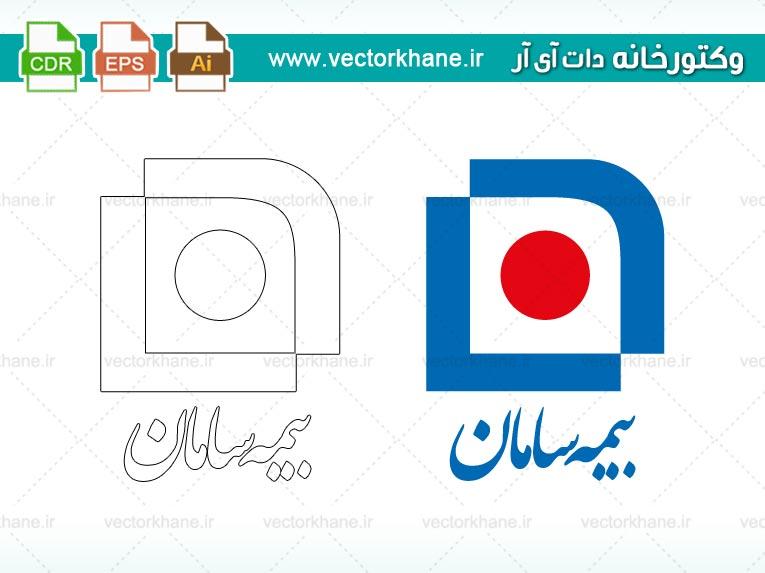 وکتور لوگوی بیمه سامان