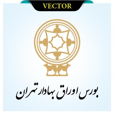 وکتور لوگوی بورس و اوراق بهادار تهران