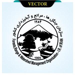 وکتور لوگوی سازمان جنگل ها ، مراتع و آبخیزداری کشور